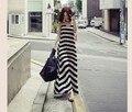 Mulheres maternidade dress nova moda tarja verão v do pescoço solto dress + brasão dress grávida roupas femininas