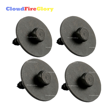 CloudFireGlory For Mercedes C230 C300 CL550 CLA250 W203 W204 W207 W209 4Pcs Sheet Metal Under Cover Screw Bolt 0019906036 image
