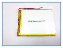 送料無料新記事 3.7 V リチウムポリマー電池 2800 mah 406685 ミリアンペアタブレットバッテリー