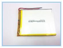 Kostenloser versand EINE neue artikel 3,7 V lithium polymer batterie 2800 mah 406685 ma tablet batterie