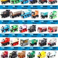 53 модели, 10 шт./лот, новинка, Томас, аниме, Деревянные железные дороги, игрушечные поезда, отличные детские игрушки для детей, рождественские подарки