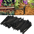 50pcs Flow Irrigation Drippers 360 Degree Emitter Drip System Emitter Micro FLow Dripper Drip Head Garden Lawn Irrigation