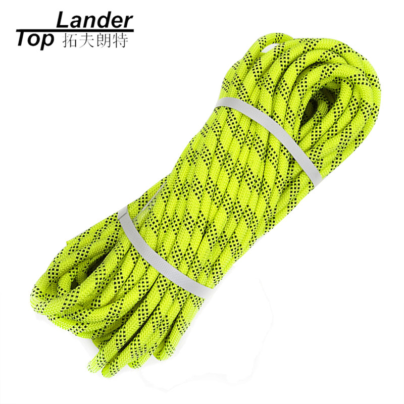 12mm Climbing Rope 30M Fire Rescue Rope Outdoor Tree Wall Escape Mountaineering Downhill 30KN Rock Climbing Equipment