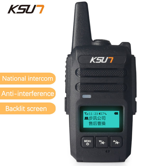 KSUN WCDMA National Distance Distance Talkie Walkie Km Double - Talkie walkie longue portée 50 km