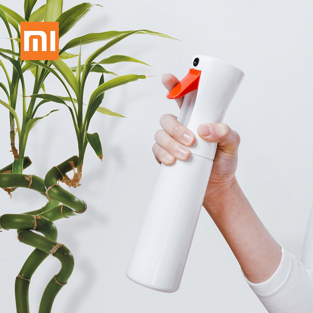 Original Xiaomi Time-lapse Spray Bottle Fine Mist Water Flower Spray Bottles Moisture Atomizer Pot Housework Cleaning Tools