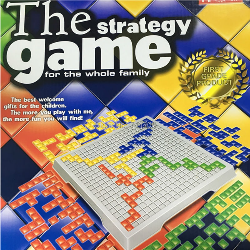 The best welcome board game BLOKUS strategy game for 4 players whole family party funny game