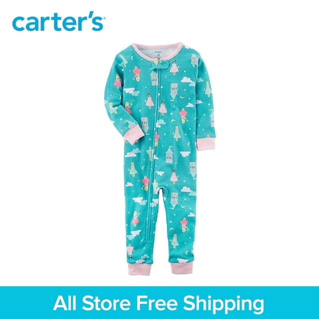 23f79d5ee Carter s 1 Piece baby children kids clothing Girl Snug Fit Cotton ...