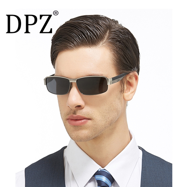 f3dbede5992 2018 Luxury Brand Designer Vintage Polaroid Lens for Men Male Sunglasses  Polarized Inner coating Eyewear original package