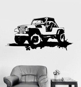 Image 1 - Autocollants muraux en vinyle, décoration de Garage de voiture militaire, autocollants artistiques de la gronde, cadeau Unique, 2FJ42