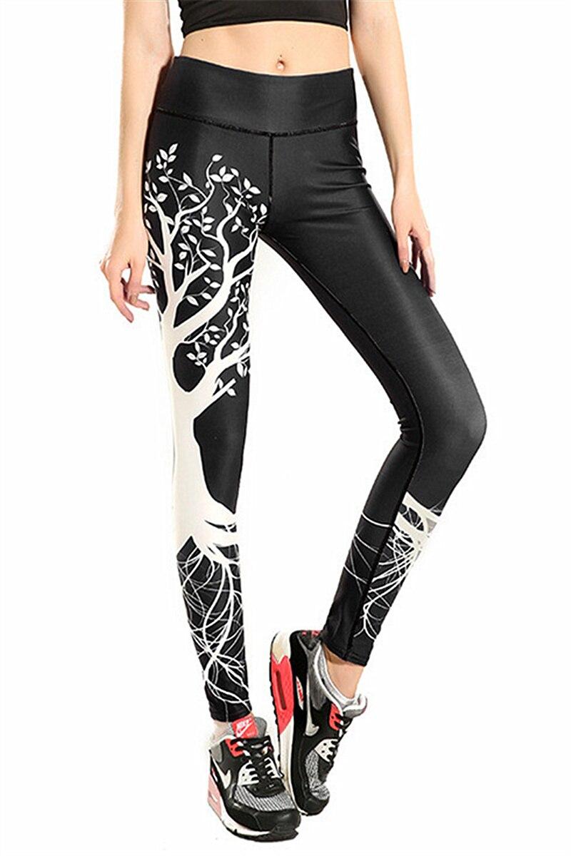Ženy černé olivovníky Fitness cvičení legíny Rychleschnoucí Délka kotníku Energetické kalhoty Kalhoty Ropa Mujer