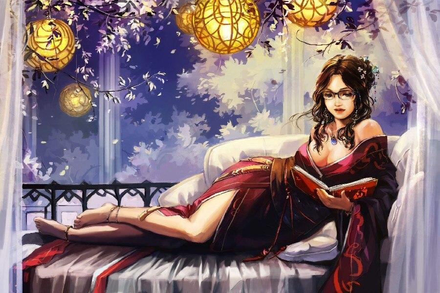 Anime sexy girls art Fantasy