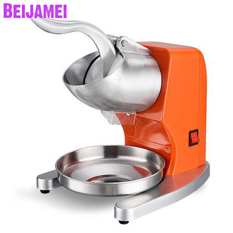 BEIJAMEI Commercial Block Ice Shaver Machine Restaurant Use Electric Ice Shaver Crusher Machine For SaleBEIJAMEI Commercial Block Ice Shaver Machine Restaurant Use Electric Ice Shaver Crusher Machine For Sale