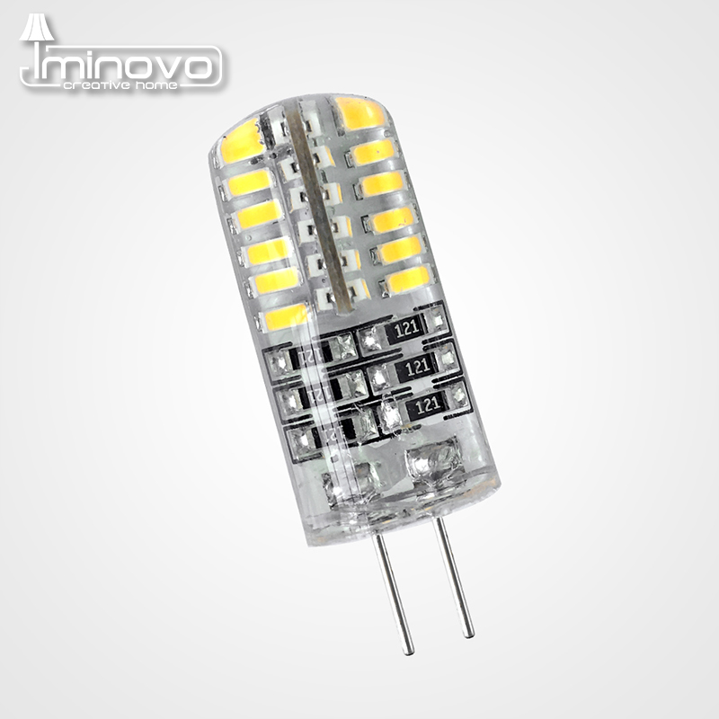 IMINOVO 20 Pcs G4 COB Light Bulb LED Lamp AC 12V AC 220V DC 12V 6W Dimmable SMD1505 Replace Halogen Lamps Chandelier Lights