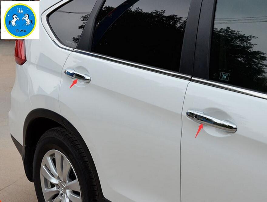 Φ_ΦPara Honda CRV 2013-2016 ABS de alta calidad cromo lado puerta ...