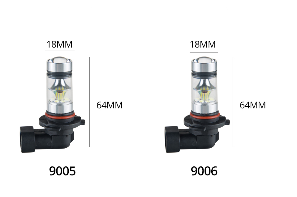 S&D MeeToo H7 H1 Led Fog Light H11 LED Car Bulbs HB3 9005 HB4 9006 SMD 2030 Auto Led Bulb Lamp 6500K Fog Lights Cars Driving Lamps (14)