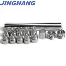 1/2-28 FUEL TRAP/SOLVENT FILTER 1X8 NAPA 4003, WIX 24003, 6061-T6 Aluminum Silver