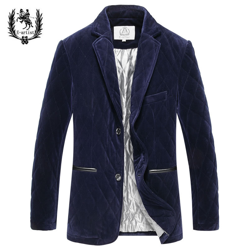 2016 New Autumn And Winter 100% Silk Solid Turn-down Collar Single Breasted Business  Men Jacket Winter 2016 autumn and winter new one breasted
