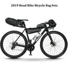 Rhinowalk 4 шт./компл. дорожный велосипед езды на большие расстояния комплекты с сумкой Водонепроницаемый большой Ёмкость для седла велосипеда руль рамы трубка сумка