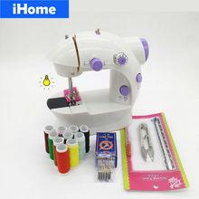 Hot Selling Elektrische Kids Naaimachine Huishouden Kledingstuk Binnenlandse DIY Sartorially Kinderen Kleding mini naaimachine