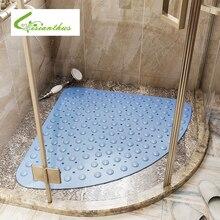 Home Hotel Bathroom Toilet Rubber Massage Sucker Mat Anti Slip Large Safety Shower Carpet Bathtub Bathmat Pad