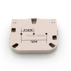 Image 3 - 20 قطعة/الوحدة 4 الأساسية ABS البلاستيك لوحة محطة صندوق لوحة الألياف البصرية لصق صينية الألياف البصرية 4 ميناء الألياف البصرية الربط صينية