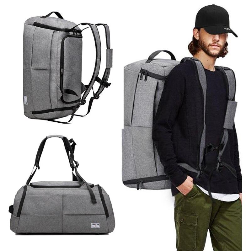 Luggage Travel Bag Men Women Hand Shoulder Suitcases Duffle Weekend Sport Bag Pack Male Boy Gym Waterproof School Student Bag