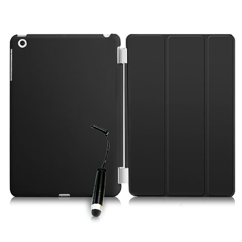 New Smart Stand Magnetic Leather Case Cover For Apple iPad Mini 1 2 & 3 colour:Black apple ipad mini smart case black mgn62zm a
