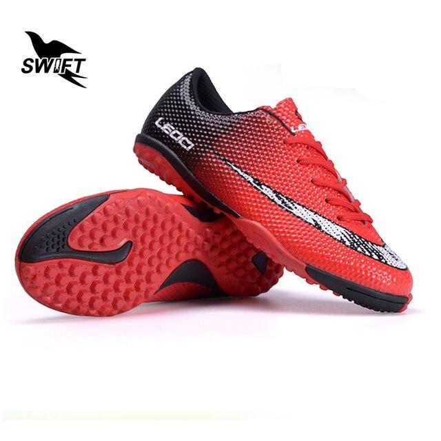Venda quente Crianças Sapatos Crianças Botas De Futsal Futebol Turf  Chuteiras De Futebol Novo Original Superfly 9296ba73f4395