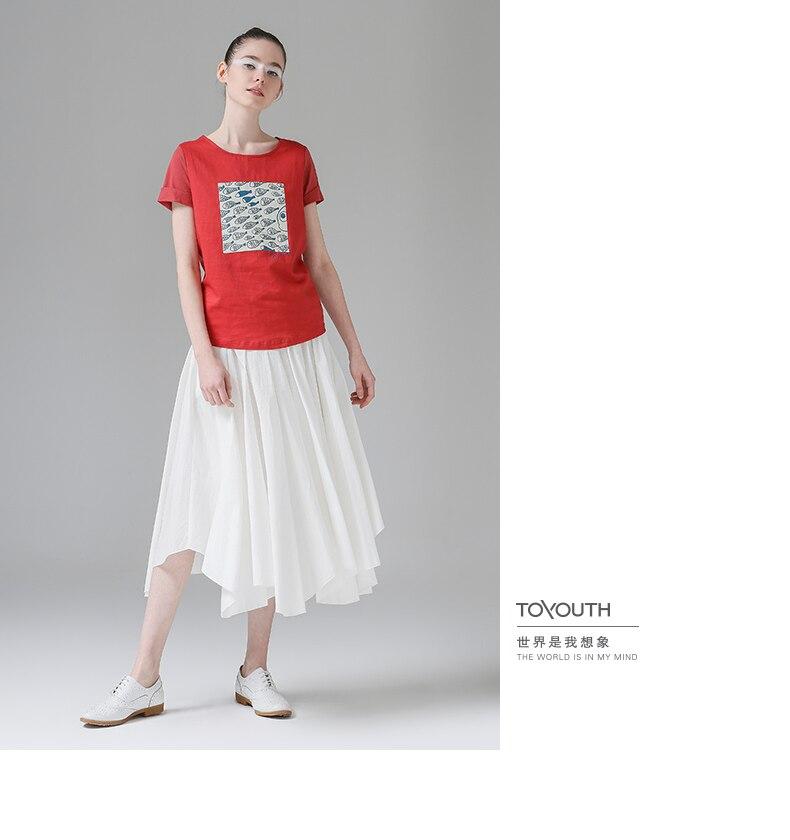 HTB1tDaJPXXXXXX1XFXXq6xXFXXX9 - t shirt femme 2017 Summer Fish Tees Tops O-Neck
