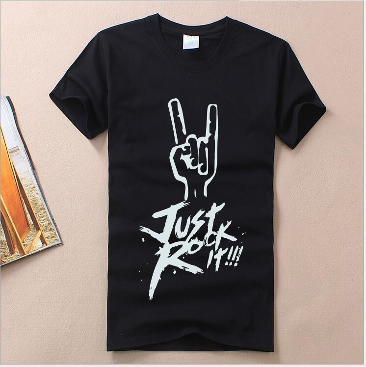 T-Shirt Boy Short-Sleeve Summer-Style Fashion Child Letter Round Youth Cotton Printing