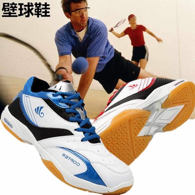 High Quality Baseball Shoes Hot Sale Breathable Male Light Weight Network indoor Squash shoes  Trainers Sneakers