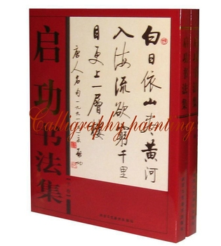 Chinese Calligraph Masters QI GONG Album Ancient Chinese Poetry Couplet Book