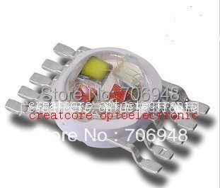 5x3W 15W RGBYW full color high power led diodes (45x45mil)