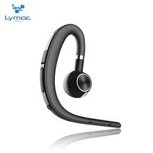 Обновления Lymoc Y3 + Bluetooth гарнитуры наушники гарнитуры Беспроводной Ушные крючки CSR4.1 голос Управление воспроизведения музыки для iPhone XiaoMi