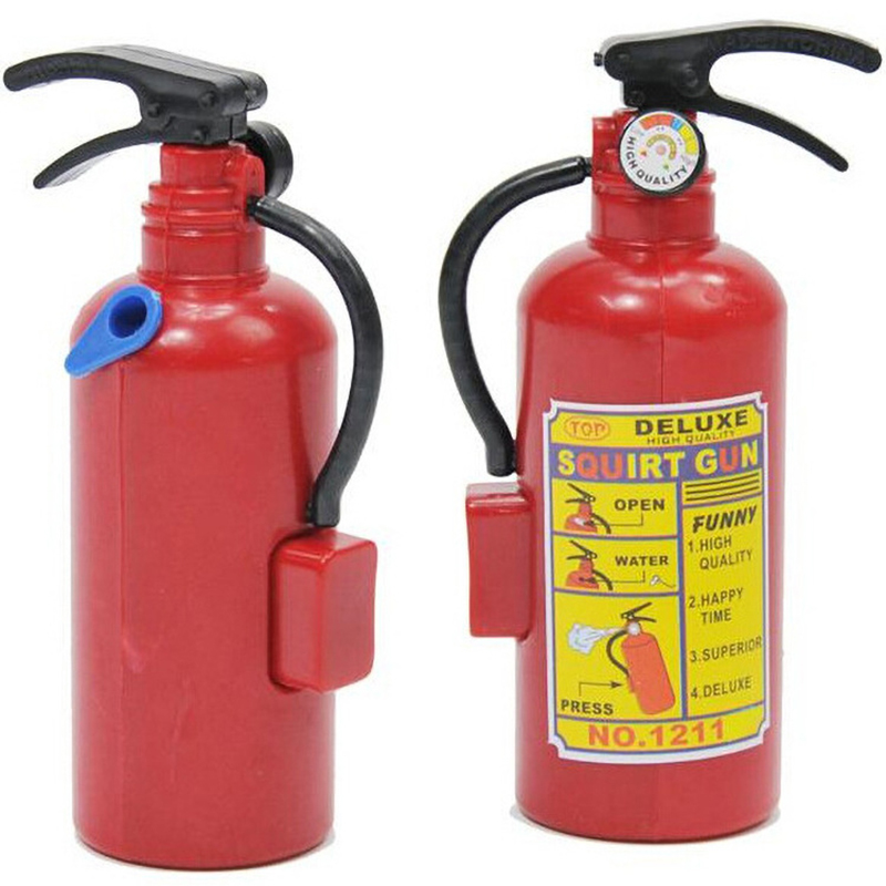 Simulation Fire Extinguisher Water Gun DIY Creative Mini Summer Water Toys Fireman Fire Extinguisher Children's Toys Gift