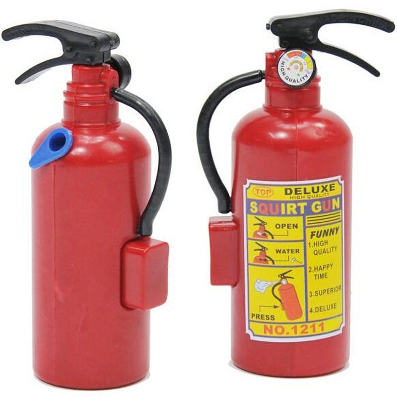 Simulation Fire Extinguisher Water Gun DIY Creative Mini Summer Water Toys Fireman Fire Extinguisher Children's Toys Gift