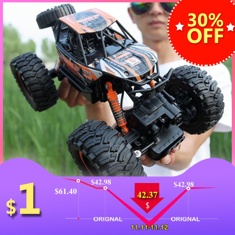 RC Car 1/14 4WD Remote Control High Speed Vehicle 2.4Ghz Electric RC Toys Monster Truck Buggy Off-Road Toys Kids Suprise Gifts