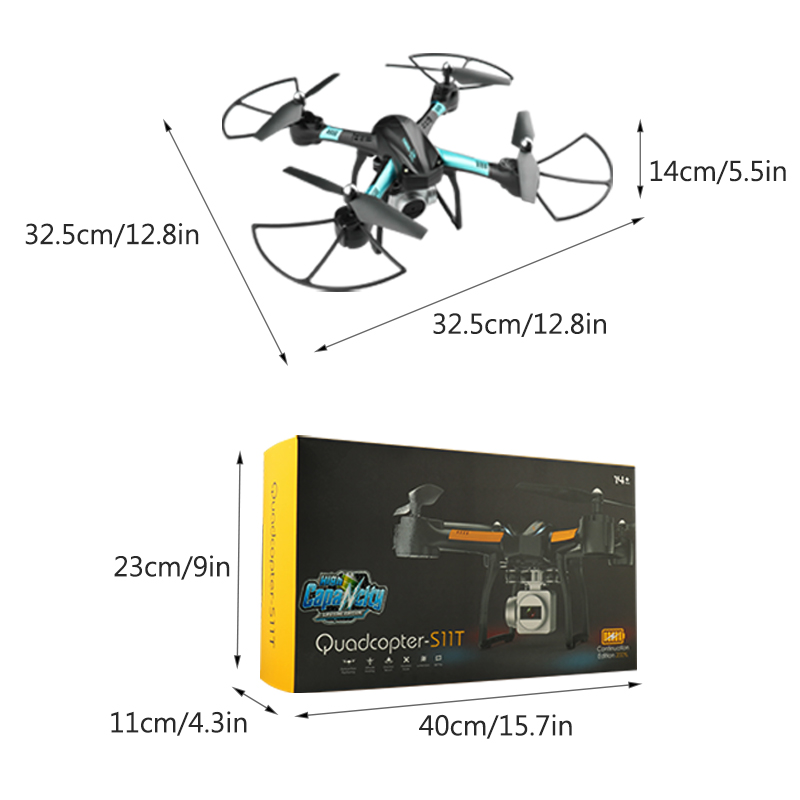 20 Minutes Fly Time RC Drone with camera hd Quadcopter with hd camera Remote Control Camera Drone Helicopter Toys for Kids S11T in RC Helicopters from Toys Hobbies