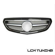 For Mercedes Benz E-class W212 2014-2016 Classic with Emblem gloss black/flat black/silver/chrome/no painted Front Grille