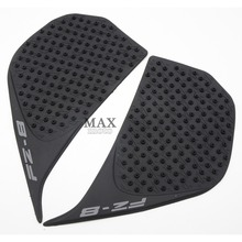 Motorcycle parts Tank Traction Pad Side Gas Knee Grip Protector Black for YAMAHA FZ8 FZ-8 2010 2011 2012 2013 2014 2015 2016