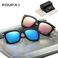 Polarized Sun Glasses UV400 Big Frame Vintage Women Eyeglasses with Case Fishing Spectacles Alloy Men Sunglasses