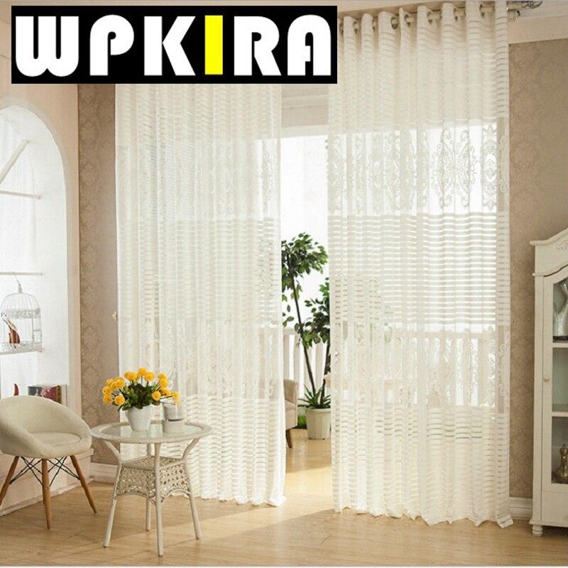 online kaufen großhandel elegante vorhänge aus china elegante ... - Vorhange Wohnzimmer Weis