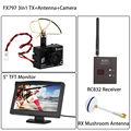 "Free shipping!FX 797T 5.8GHz Wireless Camera AV Transmitter+RC832 Receiver+5"" Monitor+Antenna"