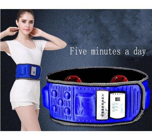 CK001 Massage belt Massage health care slimming fat burning massage fitness equipment vibration thin waist