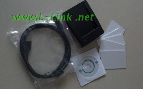 L-Link500UH lit et écrit le lecteur de carte à puce standard TYPEA/B + 15693. Avec deux interfaces de développement