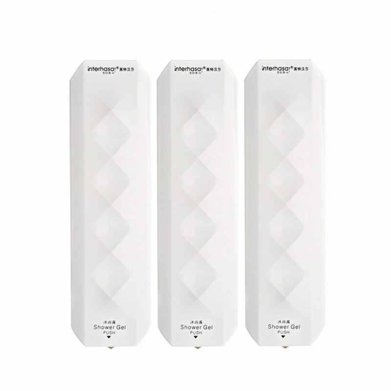 350ML paznokci darmowe ścienny łazienka dozownik mydła w płynie do montażu na ścianie szampon butelka z mydłem w płynie do łazienki wc akcesoria