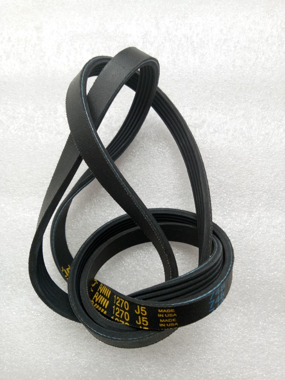High quality 4.8mm thick New Various drum washing machine belt/1270 J5/5EPJ1270/5PJ1270/5PJE1270 for Samsung/for Haier цена