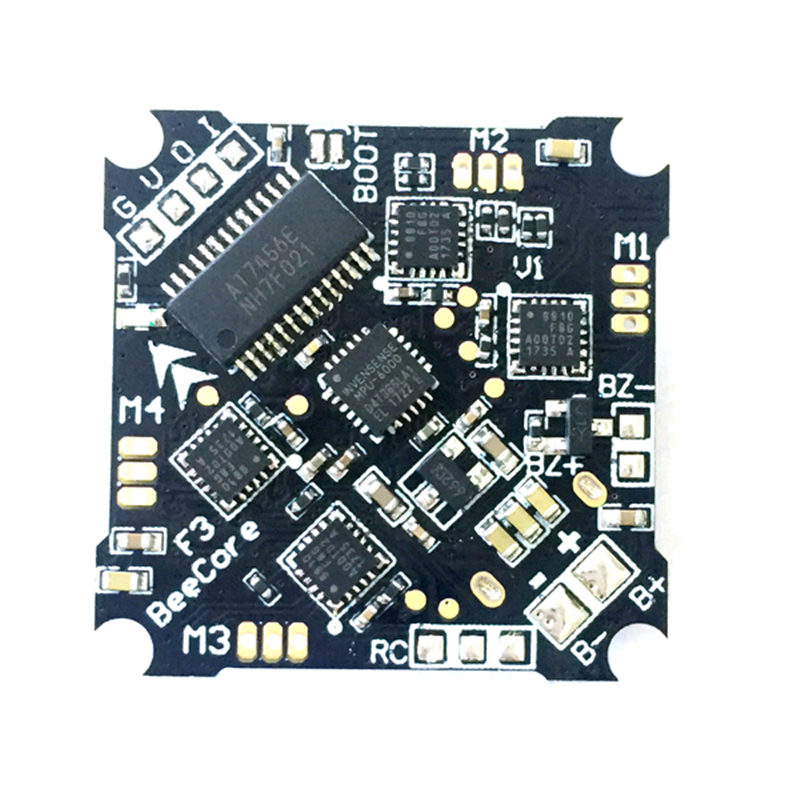 BeeCore OMNIBUS F3 V1 Flight Controller Built-in OSD Integrated 5A Blheli_S DSHOT600 Brushless ESC For RC Quadcopter Frame DIY f3 flight controller board integrated with 5v 1a esc