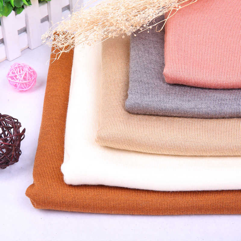 High quality viscose fabric wool anti-pilling acrylic spandex fabric for pullovers 220gsm  50*150cm/piece A0299
