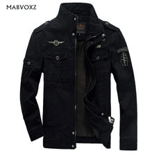 Mannen Militaire Leger jassen plus size 6XL Merk 2019 Hot kosten bovenkleding borduurwerk mens jacket voor militare(China)